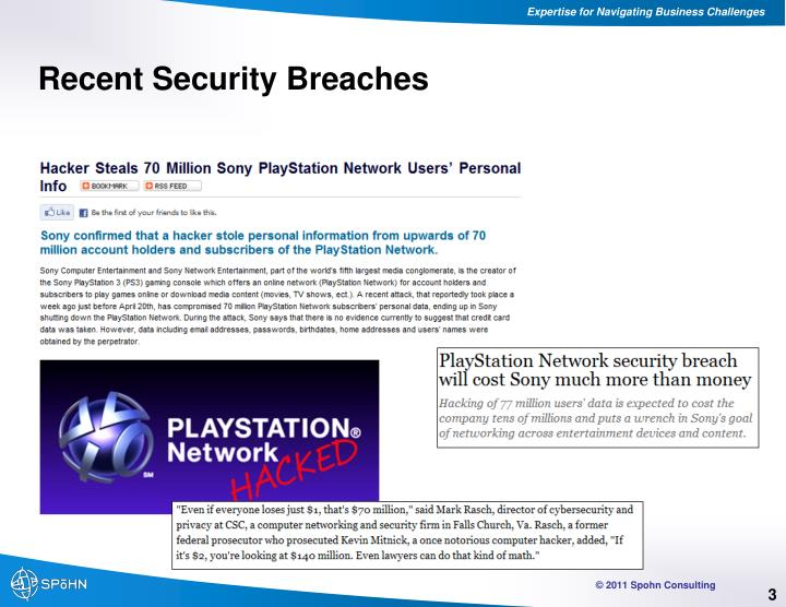 Recent Security Breaches