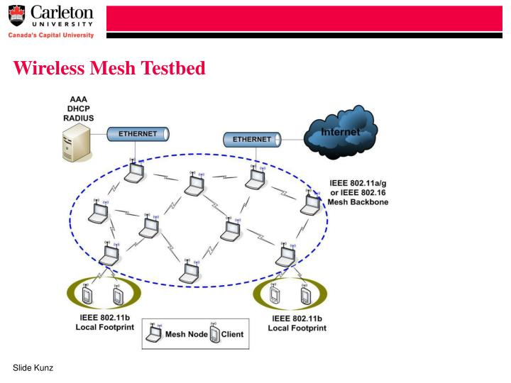 Wireless Mesh Testbed