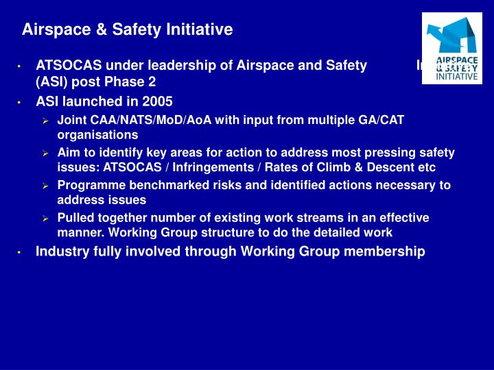 Airspace & Safety Initiative