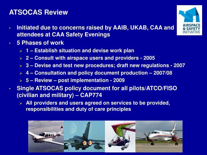ATSOCAS Review