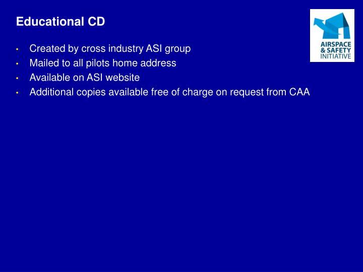 Educational CD