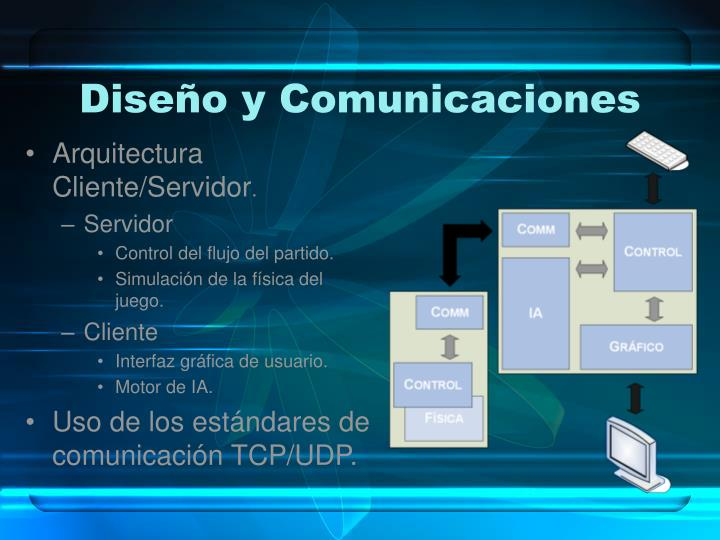 Diseño y Comunicaciones