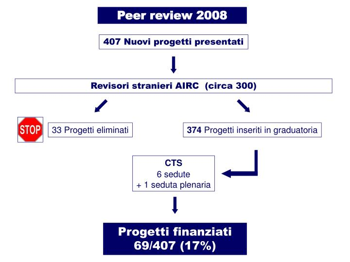 Peer review 2008