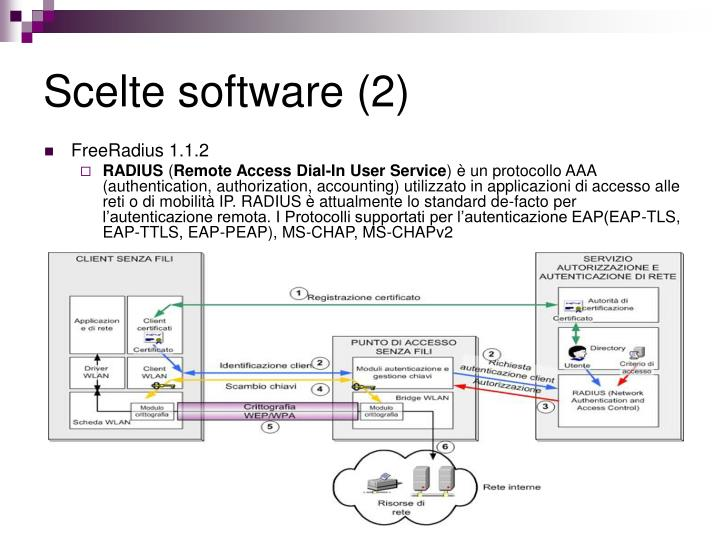 Scelte software (2)