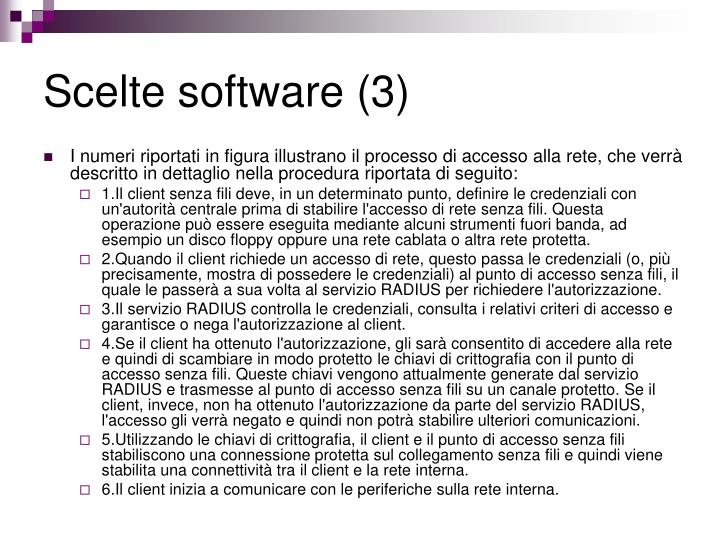 Scelte software (3)