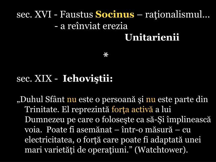 sec. XVI - Faustus