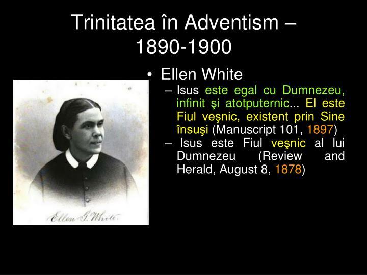 Trinitatea în Adventism –