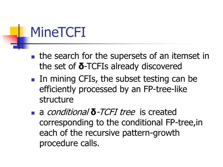 MineTCFI