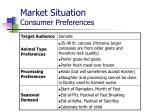 market situation consumer preferences2