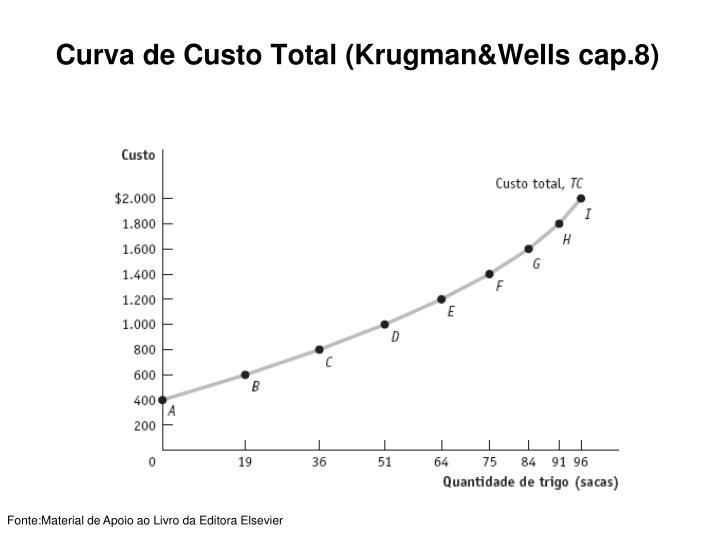 Curva de Custo Total (Krugman&Wells cap.8)