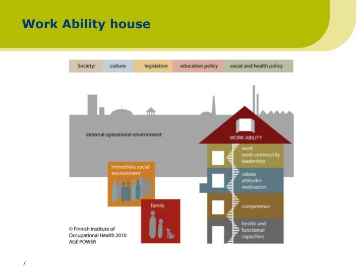 Work Ability house
