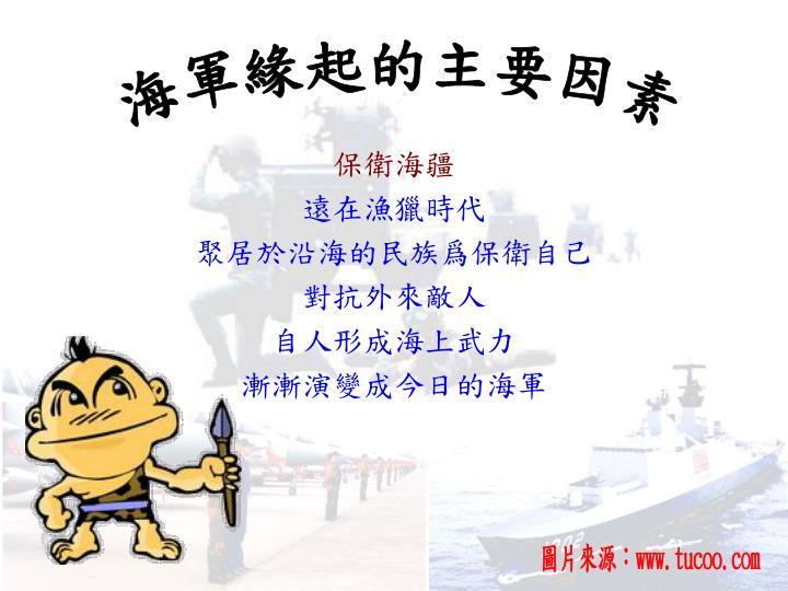 海軍緣起的主要因素
