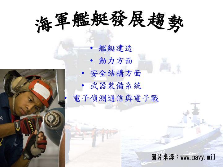 海軍艦艇發展趨勢