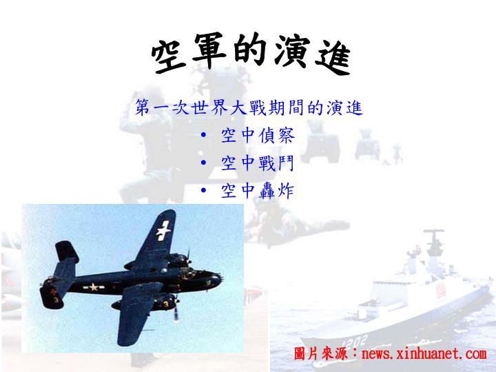 空軍的演進