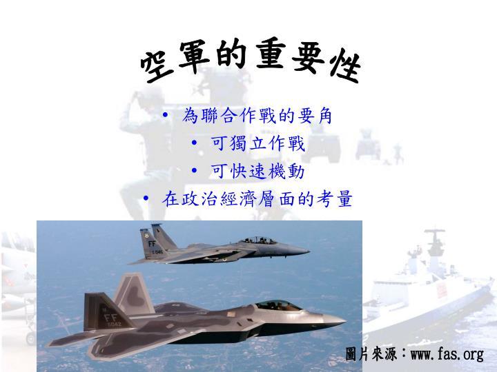 空軍的重要性