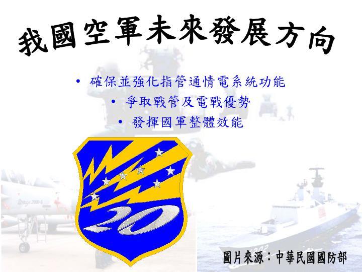我國空軍未來發展方向