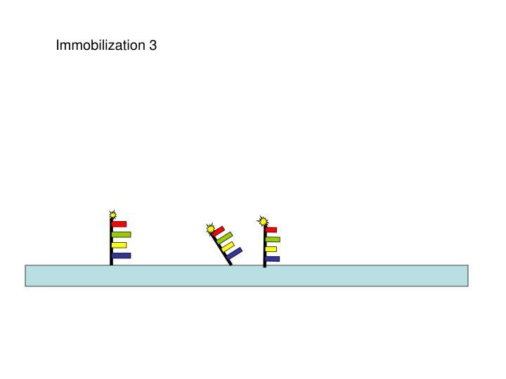 Immobilization 3