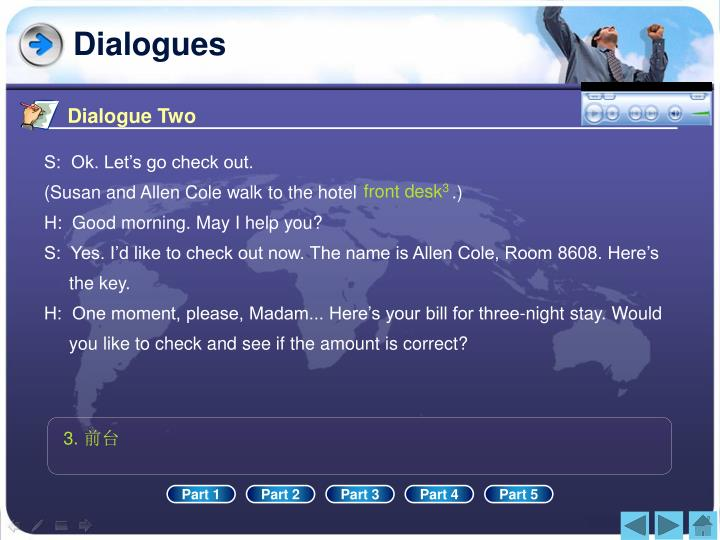 Dialogue Two