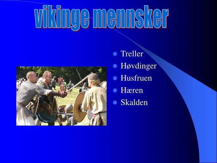 vikinge mennsker