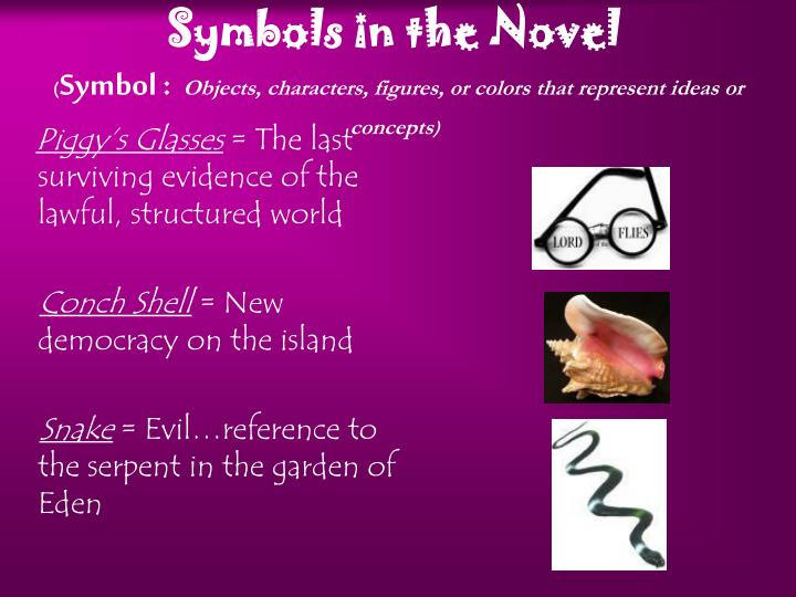 Symbols in the Novel