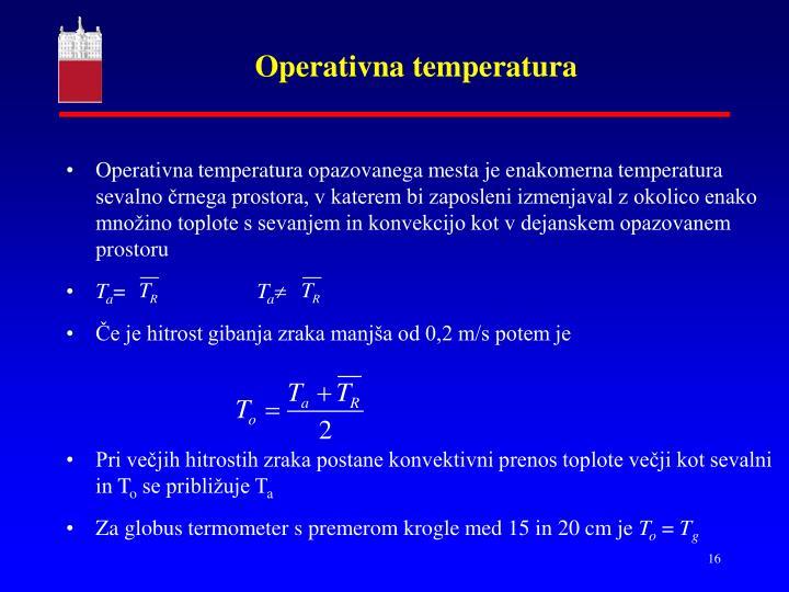 Operativna temperatura