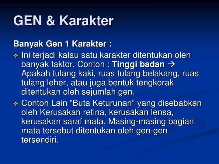 GEN & Karakter