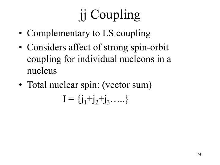 jj Coupling