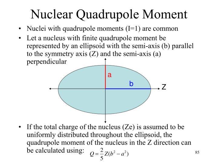 Nuclear Quadrupole Moment