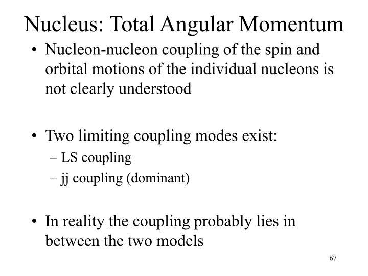 Nucleus: Total Angular Momentum