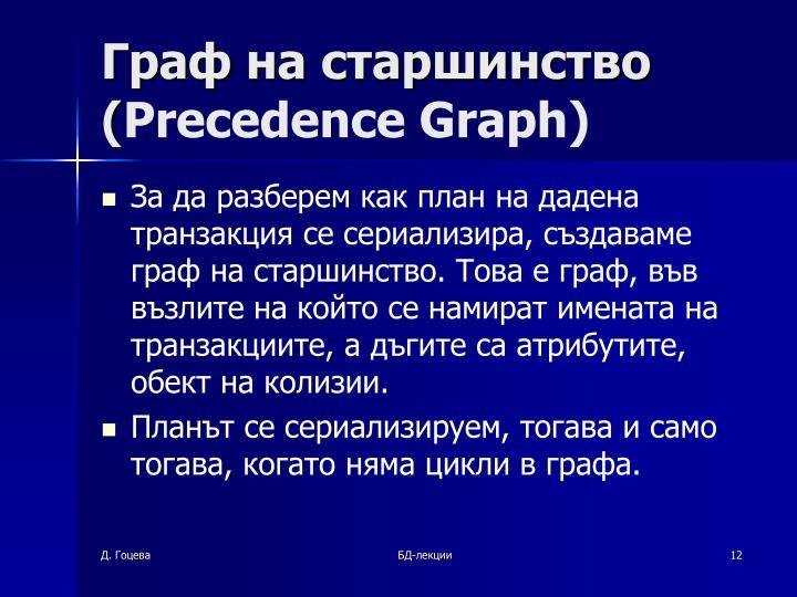 Граф на старшинство
