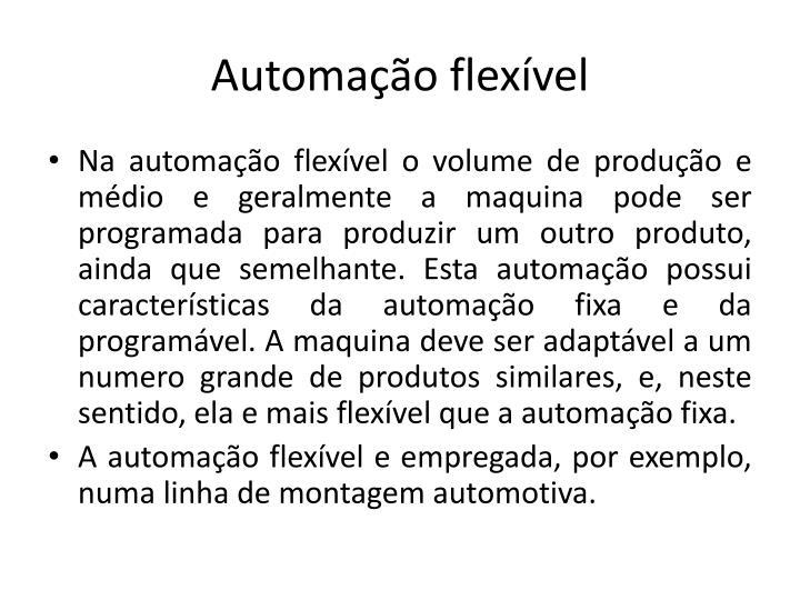 Automação flexível