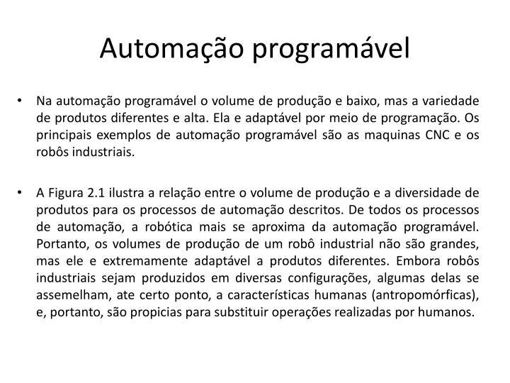 Automação programável