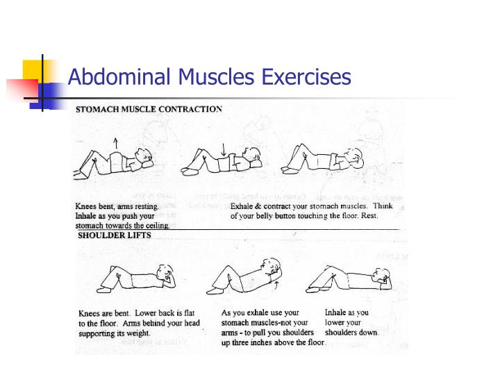 Abdominal Muscles Exercises