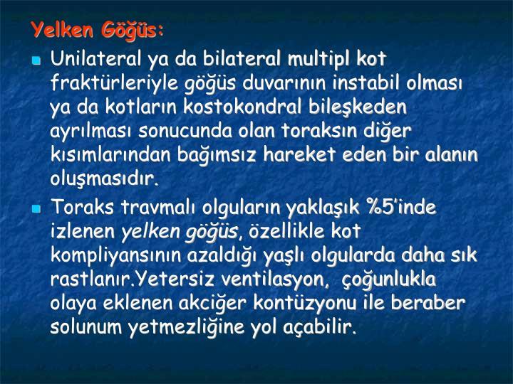Yelken Gs: