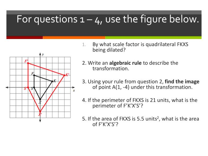 For questions 1 – 4, use the figure below.