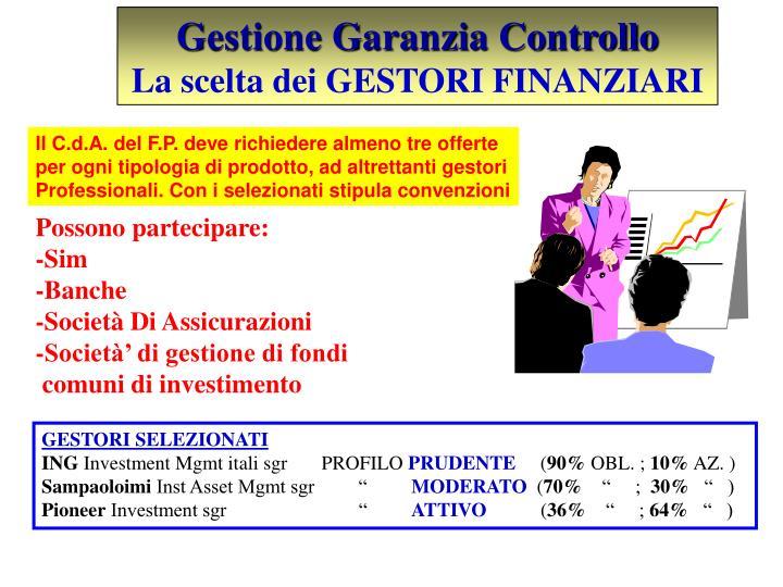Gestione Garanzia Controllo