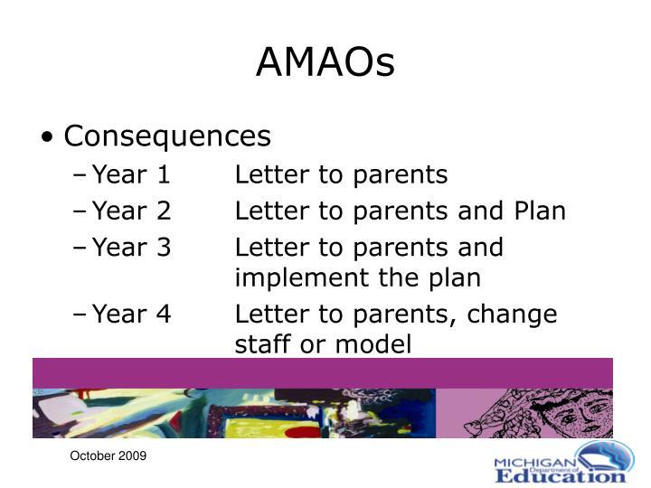 AMAOs