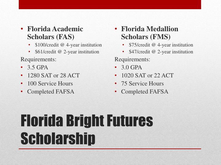 Florida Academic Scholars (FAS)