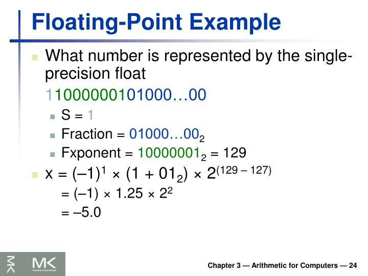 Floating-Point Example