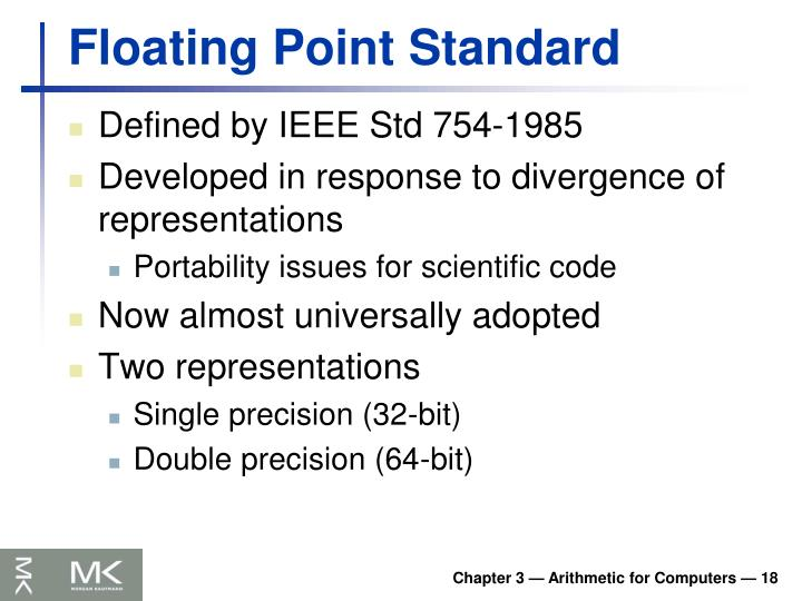 Floating Point Standard