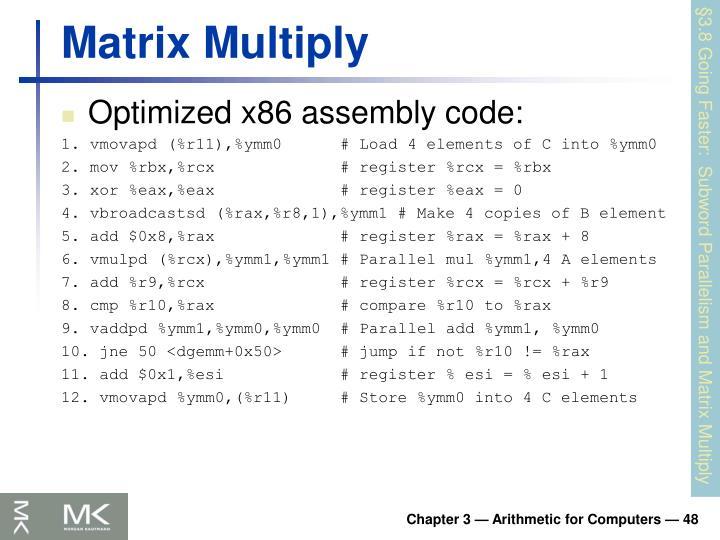 Matrix Multiply
