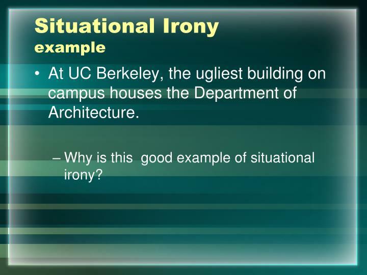 Situational Irony
