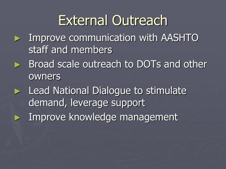 External Outreach