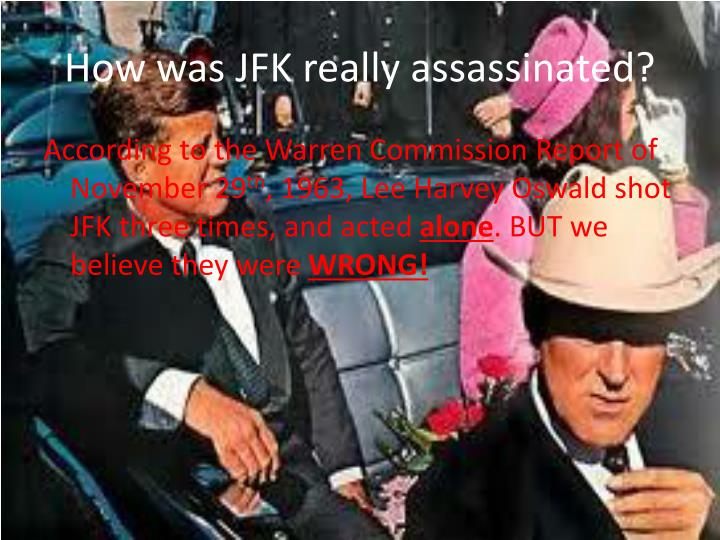How was jfk really assassinated