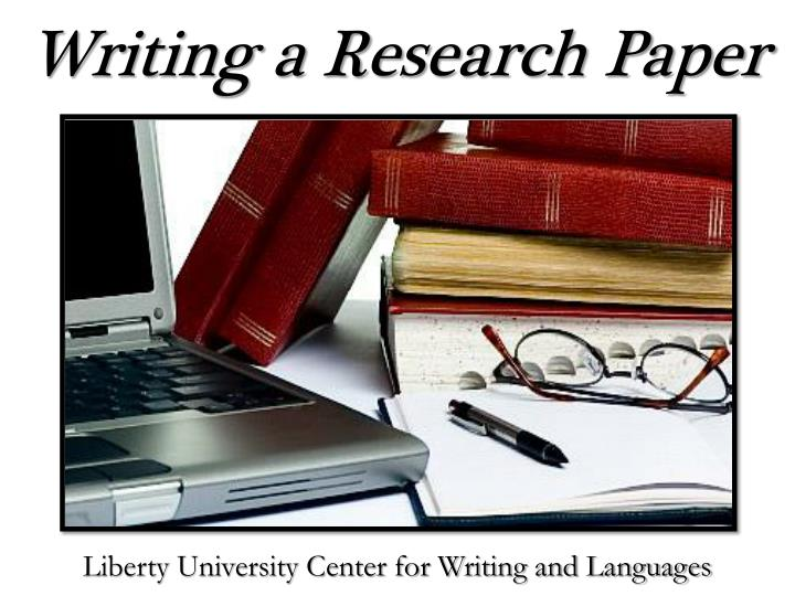 Custom research paper writing ppt