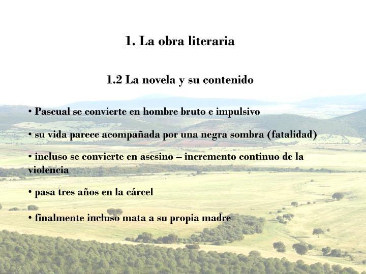 1. La obra literaria