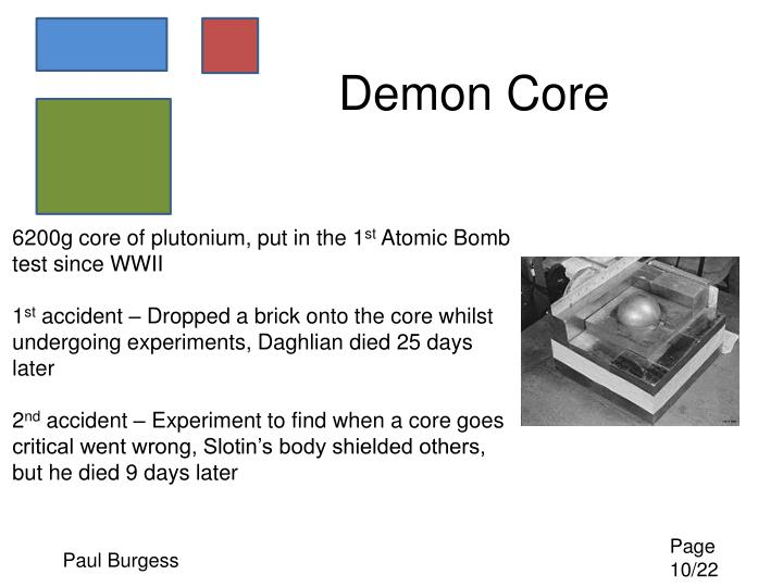 Demon Core