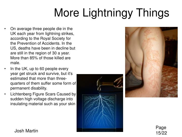 More Lightningy Things