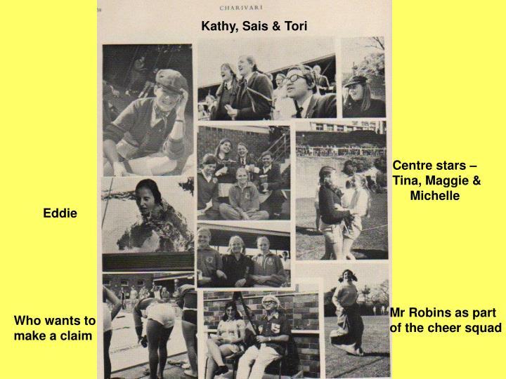 Kathy, Sais & Tori