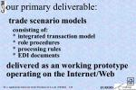 our primary deliverable
